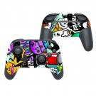 Animated cartoon decal for Nintendo switch controller pro sticker skin