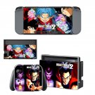 Dragon ball 2 Xenoverse decal for Nintendo switch console sticker skin