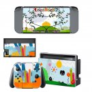 Loco Roco 2 Nintendo switch console sticker skin