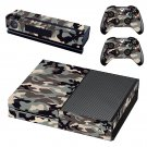 Military camouflage  skin decal for Xbox one console and controllers
