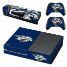 Nashville Predators skin decal for Xbox one console and controllers