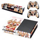 Nude Girls in Christmas outfit  skin decal for Xbox one console and controllers