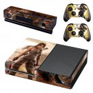 Girl with bow  skin decal for Xbox one console and controllers