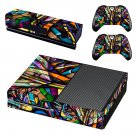 Colorful anime skin decal for Xbox one console and controllers