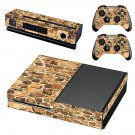 Stone Wall skin decal for Xbox one console and controllers