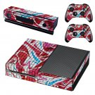 Street art skin decal for Xbox one console and controllers