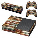 Multicolour stone wall skin decal for Xbox one console and controllers