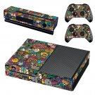Emoji  skin decal for Xbox one console and controllers