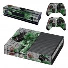 Pollution masked skin decal for Xbox one console and controllers