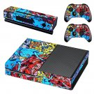 Prizma robot  graffiti skin decal for Xbox one console and controllers