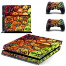 Graffiti art skin decal for PS4 PlayStation 4 console and 2 controllers