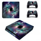 Black hole ps4 slim skin decal for console and controllers