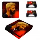 Messi ps4 slim skin decal for console and controllers