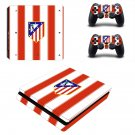 Atlético Madrid ps4 slim skin decal for console and controllers