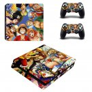 Anime ps4 slim skin decal for console and controllers