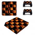 Brick Design ps4 slim skin decal for console and controllers