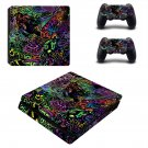 Acid trip  ps4 slim skin decal for console and controllers