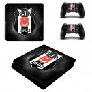 Beşiktaş ps4 slim skin decal for console and controllers