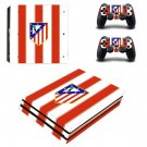 Atlético Madrid ps4 pro skin decal for console and controllers