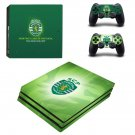 Sporting Clube de Portugal ps4 pro skin decal for console and controllers