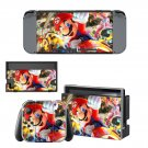 Mario Kart 8 Nintendo switch console sticker skin