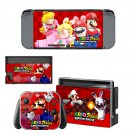 Mario Rabbids Kingdom Battle Nintendo switch console sticker skin