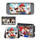 Mario Rabbids Kingdom Battle Nintendo switch console sticker skin