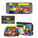 ARMS Nintendo switch console sticker skin