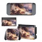 Famous oil painting Nintendo switch console sticker skin