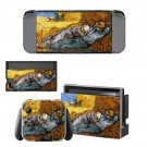 Vincent van gogh paintaing Nintendo switch console sticker skin