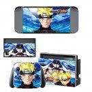 Naruto to Boruto Shinobi Striker Nintendo switch console sticker skin