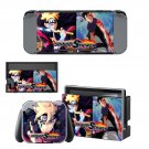 Naruto to Boruto Shinobi Striker Nintendo switch console sticker skin