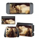 Tristan and Isolde painting Nintendo switch console sticker skin