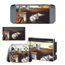 The Persistence of Memory Nintendo switch console sticker skin