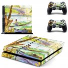 Fishing in spring ps4 skin decal for console and 2 controllers