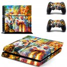 Kiss of passion ps4 skin decal for console and 2 controllers