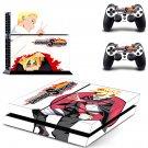 Naruto to Boruto Shinobi Striker ps4 skin decal for console and 2 controllers