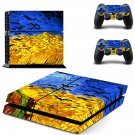 Vincent van gogh paintaing ps4 skin decal for console and 2 controllers