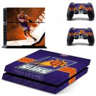 Phoenix Suns ps4 skin decal for console and 2 controllers