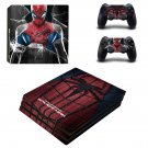 The Amazing Spider Man ps4 pro skin decal for console and controllers