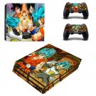 Dragon Ball Z ps4 pro skin decal for console and controllers