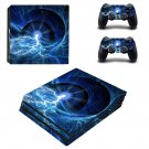 Lightning Glaxy ps4 pro skin decal for console and controllers