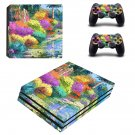 Painting of nature ps4 pro skin decal for console and controllers