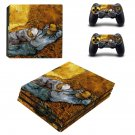 Vincent van gogh paintaing ps4 pro skin decal for console and controllers