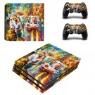 Kiss of passion ps4 pro skin decal for console and controllers