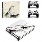 Painting ps4 pro skin decal for console and controllers