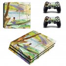 Fishing in spring ps4 pro skin decal for console and controllers
