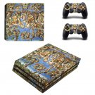 Sistine Chapel painting ps4 pro skin decal for console and controllers