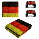 German Flag ps4 slim skin decal for console and controllers