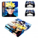 Naruto to Boruto Shinobi Striker ps4 slim skin decal for console and controllers